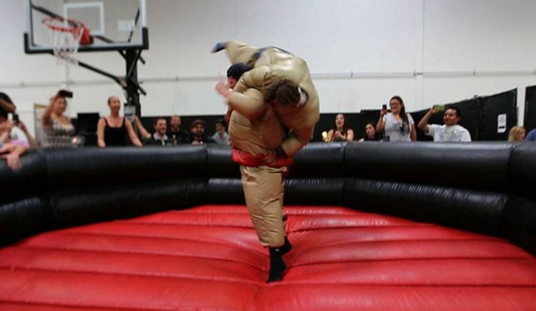 Sumo Wrestling Nooner